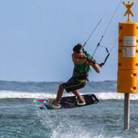 Freestyle kite île de la Réunion