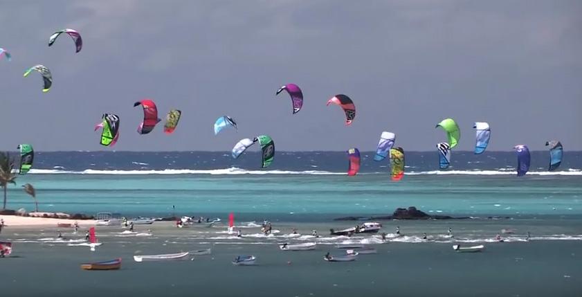 Kitesurf à Rodrigues - RIKF