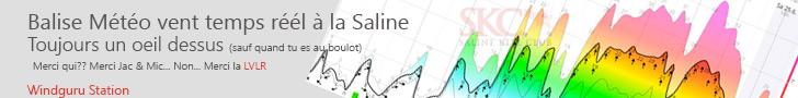 Vent temps réel Trou d'eau La Saline